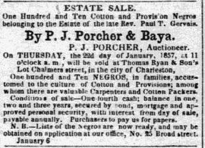 1857 Jan 20 Charleston Mercury