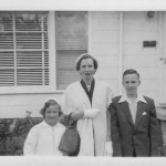 Esther Goller Trezevant & family