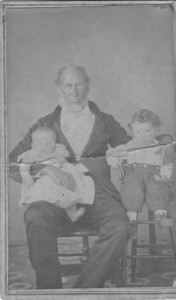 Jesse Vick and grandchildren